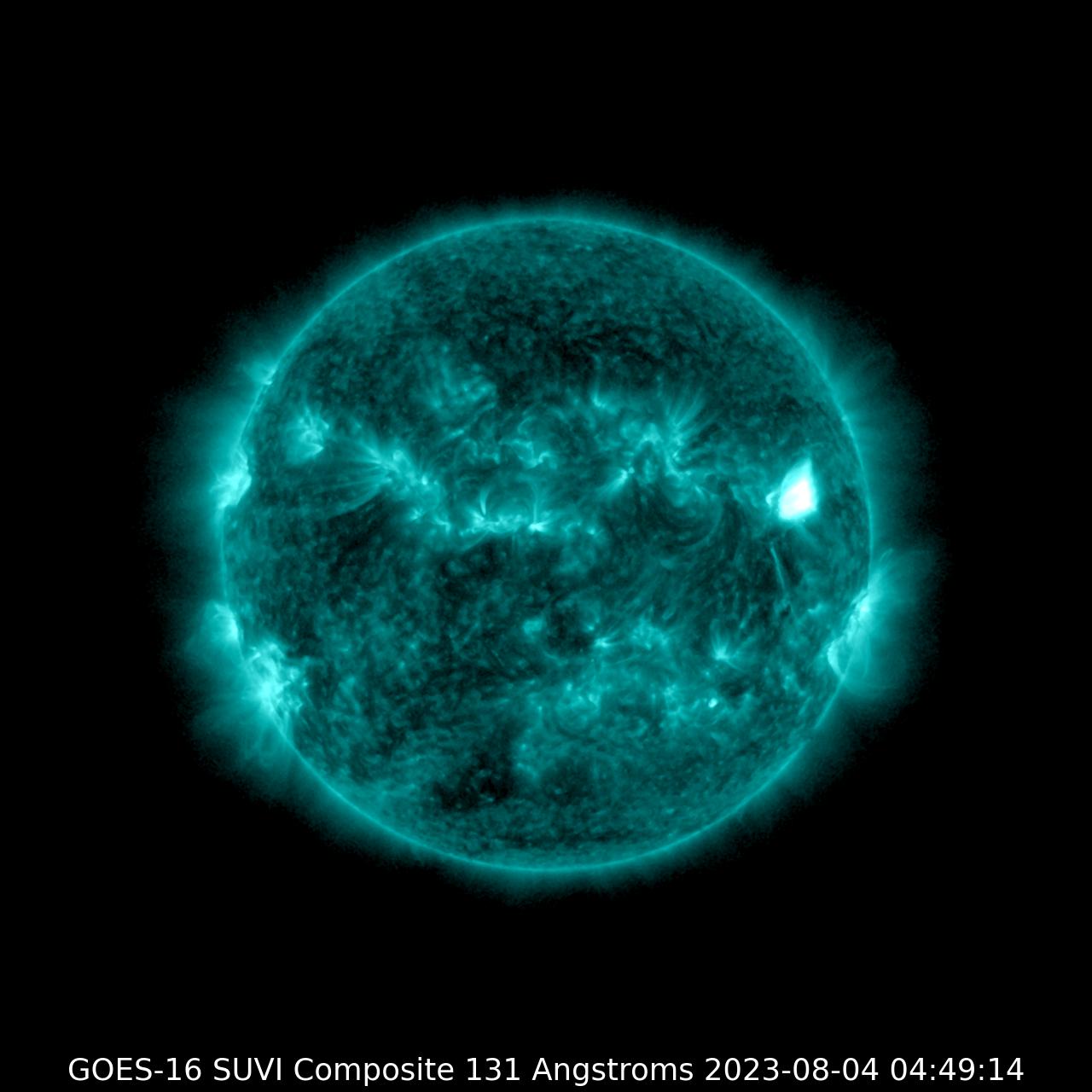 GOES-16 SUVI 131