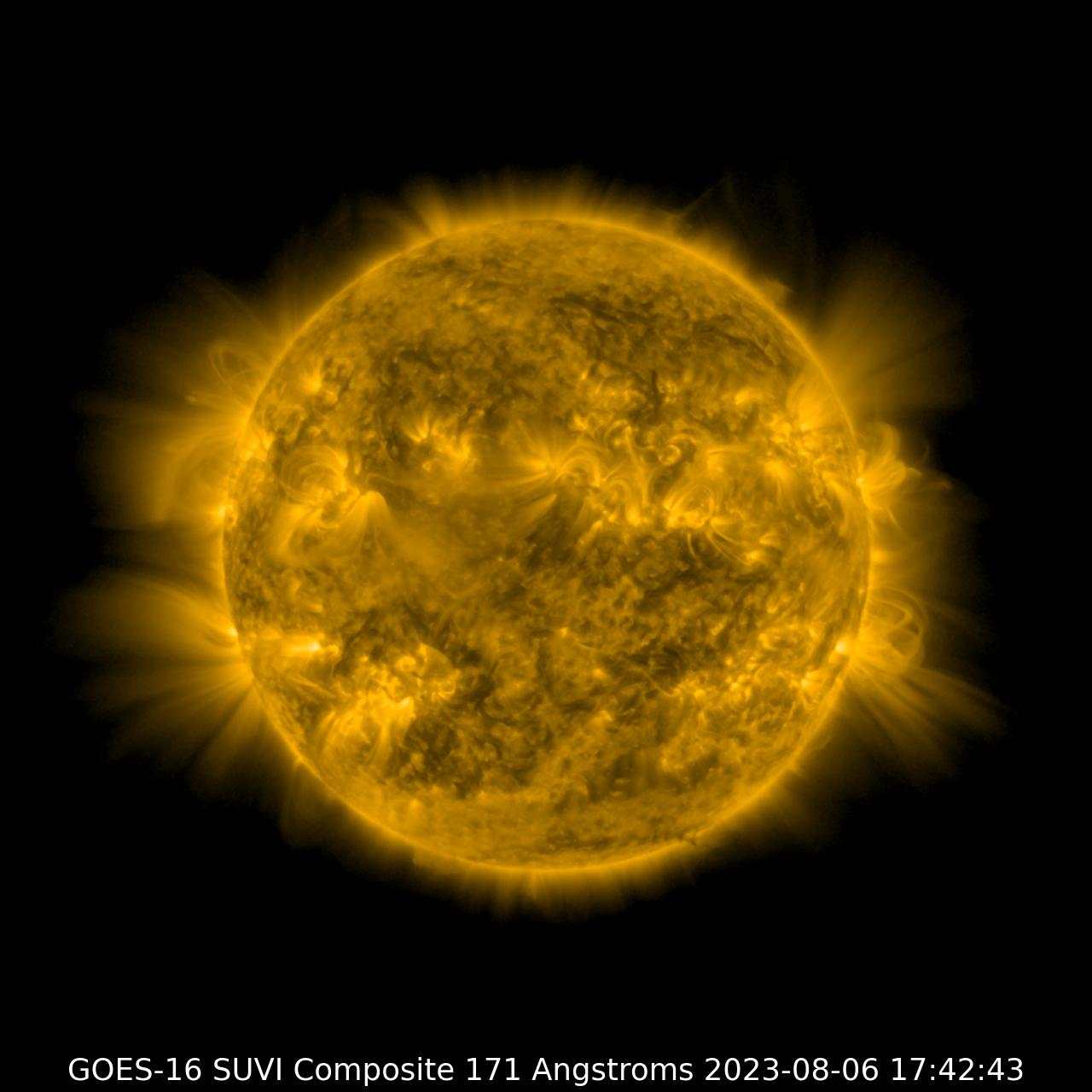 GOES-16 SUVI 171