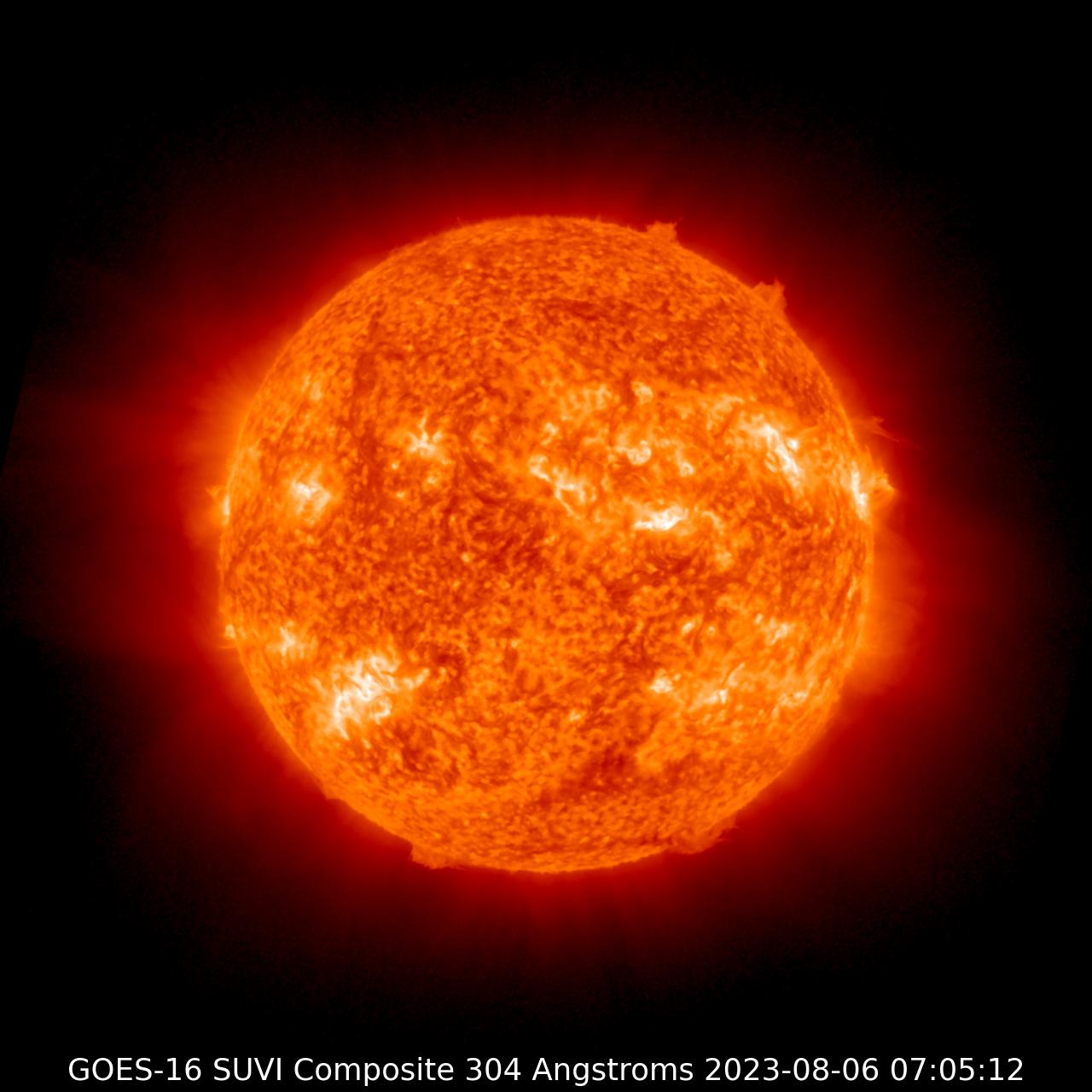 GOES-16 SUVI 304