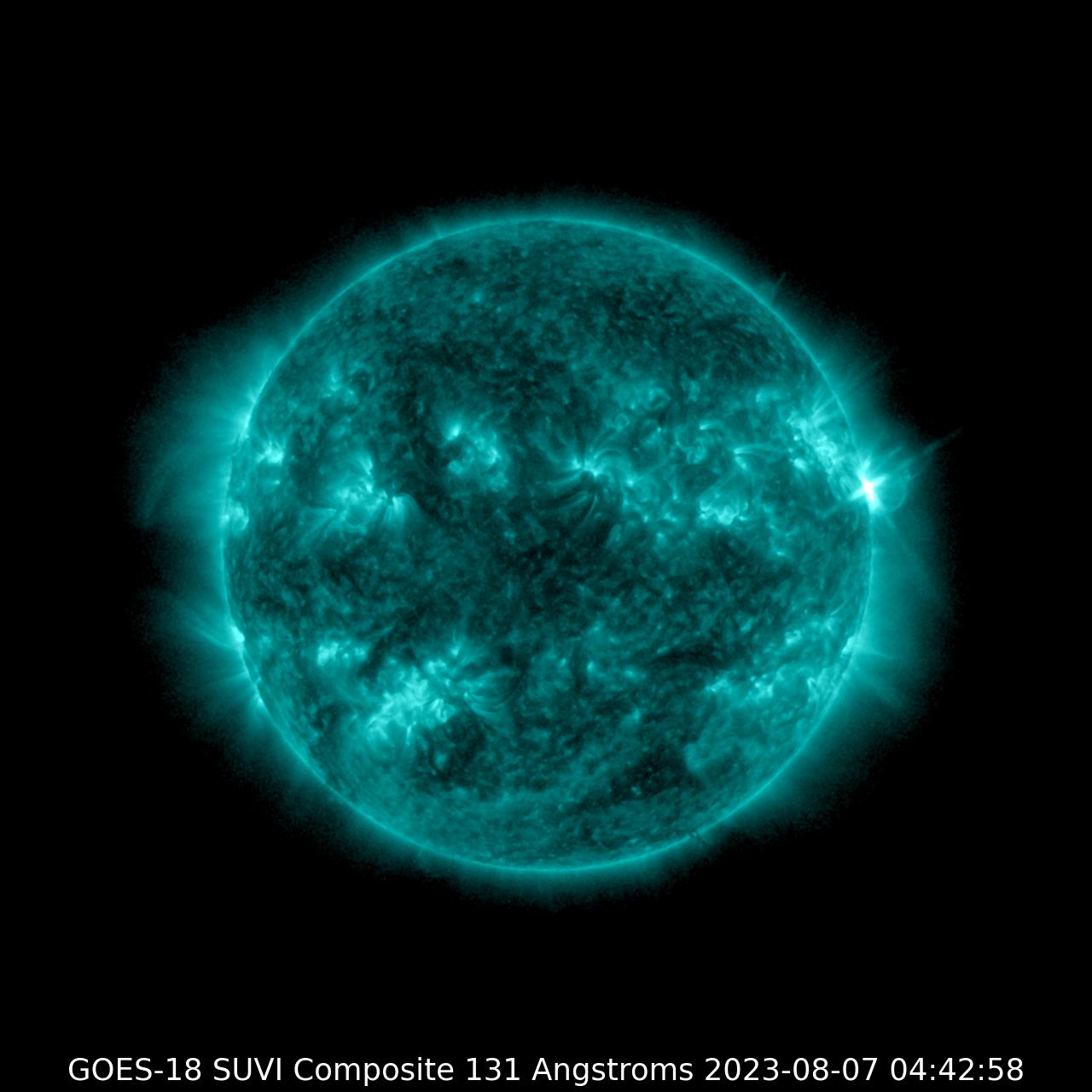 GOES-17 SUVI 131