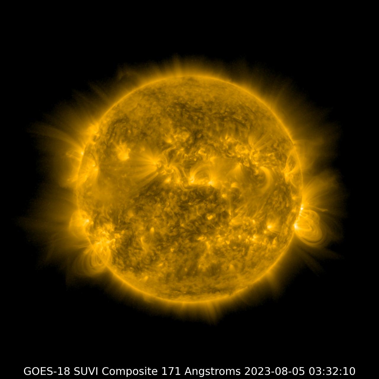 GOES-17 SUVI 171