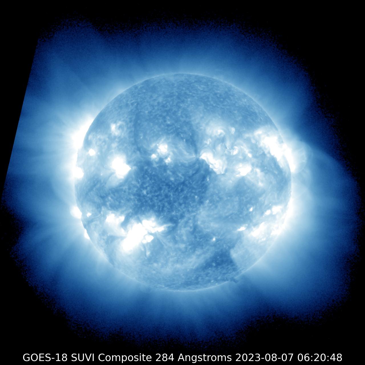 GOES-17 SUVI 284