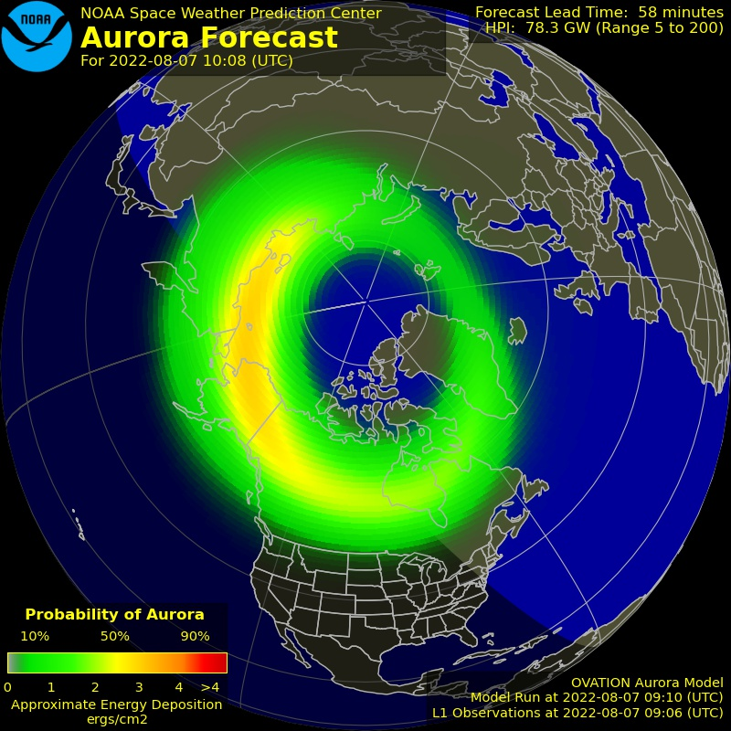 Aurora Map North