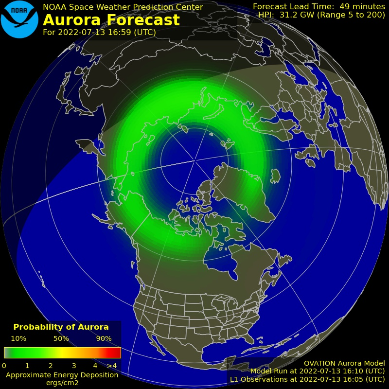 Disclosure News - Aurora Forecast