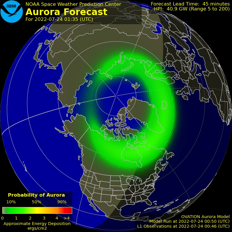 Space Weather Forecasts - ESTUDIO DEL SOL Y LA #MAGNETOSFERA , #ASTRONOMÍA - Página 8 Aurora-forecast-northern-hemisphere