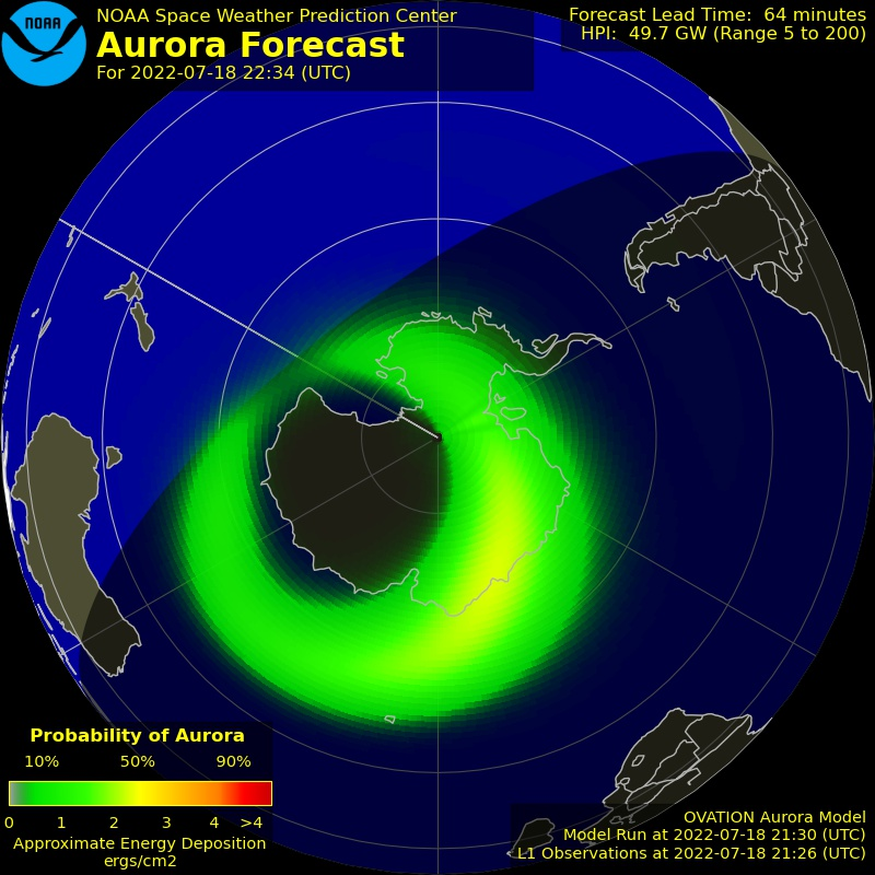 Great tool for predicting Auroral events!
